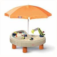 Стол-песочница с зонтом Little Tikes 401N