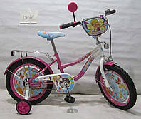 Велосипед TILLY Волшебница 16 T-21621 pink + white, детский велосипед