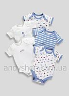 Бодики для новорожденных 5в1 MATALAN | Англия