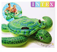 Надувной плотик для плавания Intex 57524 черепаха, фото 1