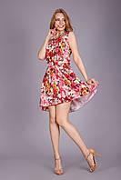 Легкое платье из изумительной  приятной на ощупь и тонкой ткани