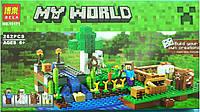 Конструктор Bela 10175 Ферма Майнкрафт, Minecraft, 262 дет., аналог Lego