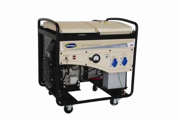 Однофазный дизельный генератор ANTOR AK 8000 MS (7,5 кВт)