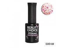 Гель-лак Beauty Choice Shimmer 10 мл LDV GVD-08 /6-1