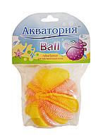 Губка банная сетчатая Акватория Бол (Ball) - 1 шт.