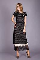 Шикарное женское платье в пол