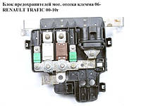 Блок предохранителей моторного отсека клема 06- RENAULT TRAFIC 00-14 (РЕНО ТРАФИК)