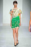 Распродажа остатков. Шелковое платье Prada с цветочным принтом OB90080