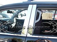 Toyota 4Runner 2003-09 хромовые накладки молдинги на двери под окна новые