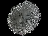Щетка (ершик) стальная для чистки дымохода (под веревку) 150 мм