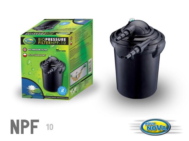 Фильтр для пруда напорный с УФ-лампой AquaNova NPF
