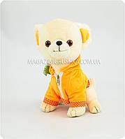 Мягкая игрушка «Собачка в оранжевом комбинезоне» (5 видов)