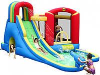 """Детский надувной батут игровой центр аттракцион """"Морские забавы"""" Happy Hop"""