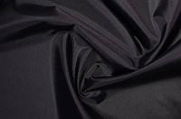 Черная плащевка Оксфорд плотность 110 г/м2, тентовая палаточная ткань, фото 1