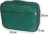 Органайзер для рубашек на 3 шт / для путешествий ORGANIZE (зеленый), фото 2