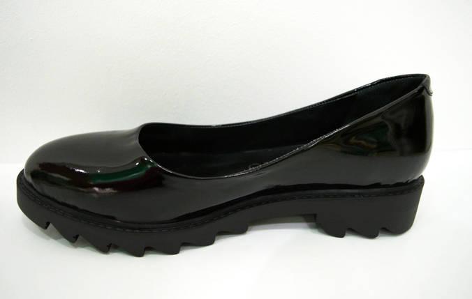 Туфли лакированные черные Guero 658 , фото 2