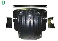 Защита картера VOLKSWAGEN Golf VII v-1,4TSI DSi;1,8T(под балку)  с-2013г.