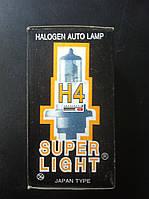 Лампа автомобильная галогенновая Н4 Р45Т 12V 100/90W