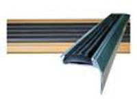 Порожек аллюминевый для ступеней effector a-37 цвет серебро
