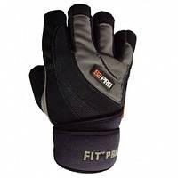 Перчатки с обмоткой запястья Power System FP-04 S2 PRO черно-коричневый