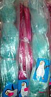 Сетеполотно Пингвин из лески 0,18 мм (ячейки: 25, 30, 35, 40, 45, 50, 55) кукла розовая
