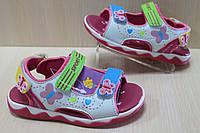 Босоножки на девочку, детская летняя обувь Tom.m р. 20,21,23,25