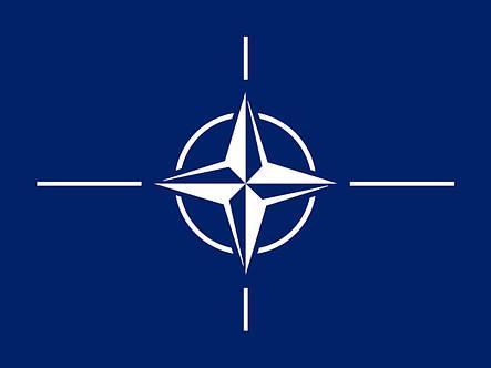Флаг НАТО (Аппликация) - (1м*1.5м), фото 2