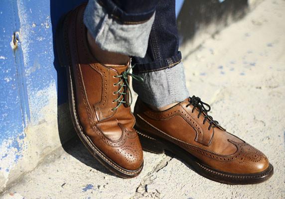 Классические мужские туфли оксфорды дерби броги
