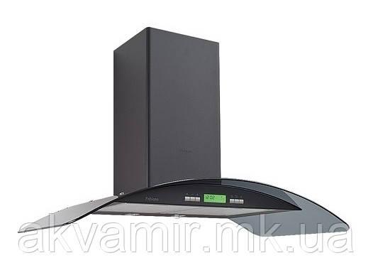 Вытяжка для кухни Fabiano Arco-A 90 Black LCD (черная) декоративная