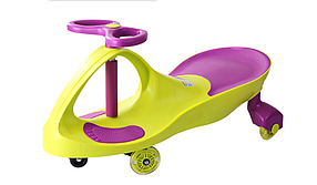 Smart Car NEW GREEN с полиуретановыми колесами
