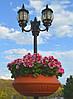 Вазон фонарный для цветов 600