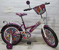 Велосипед TILLY Русалка 18 T-21821 purple + white, детский велосипед