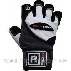 Мужские перчатки для фитнеса RDX Pro Lift Gel