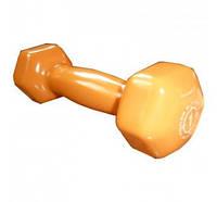 Виниловая гантель для фитнеса Power System Dumbell 1 кг