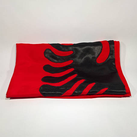 Флаг Албании (Аппликация) - (1м*1.5м), фото 2