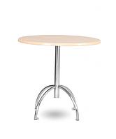 Опора стол для кафе Виктор 1100 хром