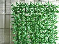 Цветы искусственные Коврик зеленый пластиковый