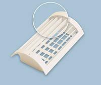 Радиальная двухрядная вентиляционная решетка