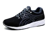 Мужские кроссовки Asics Gel-Kayano Trainer EVO текстиль, черные с серым, фото 1