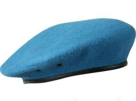 Берет голубой со швом, фото 2