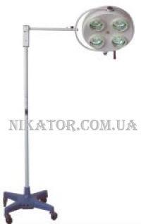 Светильник хирургический бестеневой напольный YD01-4