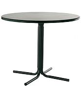 Опора стол для кафе Карина чёрная