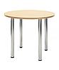 Ножки стол для кафе Кайя хром