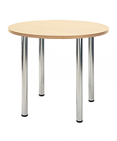 База стол для кафе Кайя хром