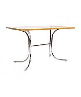 Опора стол для кафе Розана дуо хром