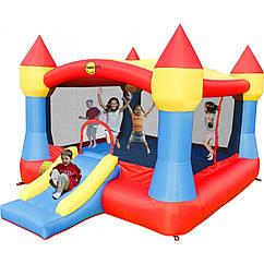 """Детский надувной батут игровой центр аттракцион """"Замок"""" Happy Hop"""