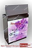 Комод пеленатор цвет Орех Темный + Орхидеи, фото 2