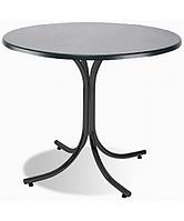 Опора стол для кафе Розана чёрная