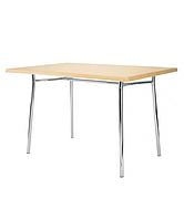 База стол для кафе Тирамису дуо хром