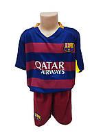 Подростковая (детская) футбольная форма Барселона без номера